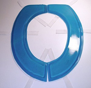 Toilet Seat Gel Cushion